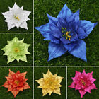 1pc 13cm Christmas Flowers Tree Decorations Glitter Hollow Wedding Party Decors