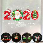 45*60cm Merry Christmas Vinyl Decals Home Store Window Wall Stickers Xmas Decor