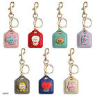 BT21 BABY LEATHER METAL KEY RING