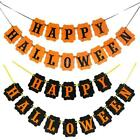NEW Happy Halloween Banner Garland Party Bunting Decoration