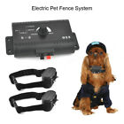 1-2 Dogs Underground Electric Dog Fence Containment System Wireless 5000  Collar