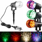 LED Projector Light Lamp Waterproof Rotating Flame Spotlight Landscape Light NEW