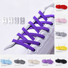 1pair Men Women Shoe Laces No Tie Flat Unisex Laces Lazy Shoelaces Elastic