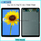 """For LG G Pad X 10.1"""" V930 AT&T LCD Display Touch Screen Digitizer ± Frame Black"""