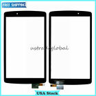New For LG G Pad F 8.0 V495 LCD Display Touch Screen Digitizer Frame Replacement