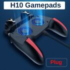 H10 PUBG Gaming Grip Controller Joystick Gamepad w/ Cooling Fan For Android IOS