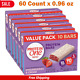 Protein One Strawberries & Cream Protein Bars, 10g Protein, 90 Calories, 6 Box