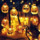 Halloween Decoration LED String Pumpkin Shape Light Lantern Home Outdoor Party