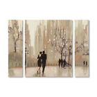 "30 in. x 41 in. ""An Evening Out Neutral"" by Julia Purinton Printed Canvas Wall A"