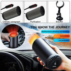 Portable Auto Heater Defroster 12 Volt Car Heating Electric Travel Vehicle Fan