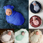 Lovwly Infant Baby Boy Girl Swaddle Sleeping Bag Wrap Blanket Photography Prop