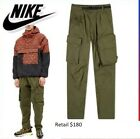 180 NEW NWT Men's Nike Woven ACG Cargo Ace Carrier Pants CD7646-325 Army Green