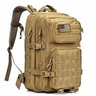 REEBOW GEAR Military Tactical Backpack Large Army 3 Day Assault Pack Molle Bag B