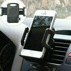 2x Adjustable Car Air Vent Cell Phone Stand Cradle Holder for Samsung iPhone GPS
