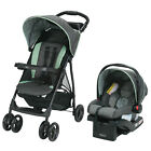 Baby Infant Toddler Stroller With Car Seat Travel System Portable Storage New