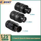 SVBONY 1.25' Zoom Eyepieces 7-21mm/8-24mm/10-30mm FMC Zoom Lens Telescope Parts