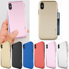 Wing Card Bumper Case for Apple iPhone XS Max/ XR/ XS X/ 8 8 Plus/ 7 7 Plus/6 6s