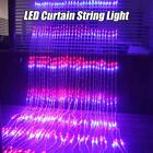 LED Waterfall Curtain Icicle String Light Christmas Wedding Party Background Gar