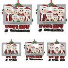 Santa Claus Family Ornament Christmas Decor Xmas Tree Hanging Pendant Ornament