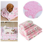 Soft Flannel Cushion Pet Mat Sleeping Accessories Cat Bed Pad Cotton Blanket