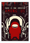 There Is One Impostor Among Us Game Poster