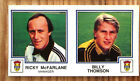 PANINI FOOTBALL 83 STICKERS ABERDEEN KILMARNOCK DUNDEE RANGERS LAWS OF GAME