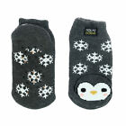 New Polar Extreme Kid's Critter Thermal Footie Slipper Socks
