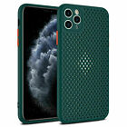 Silicone Case For iphone 11 Mesh Breathable Men Protector Shockproof Phone Cover