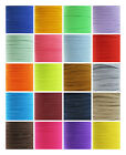 6MM - -COLOURED FLAT ELASTIC TRIMMING CRAFTS MAKE FACE MASK CORD QUALITY UK POST