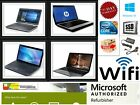 FAST CHEAP WINDOWS 10 LAPTOP DUAL CORE i3 i5 8GB RAM SSD HDD WiFi