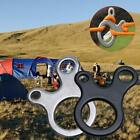 Quick Knot Tent Wind Rope Buckle 3 Hole Antislip Outdoor Hook T5d5 Ca O7l8