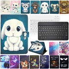 """For Laser 10"""" Inch Android Tablet Universal Stand Leather Case Cover Keyboard"""