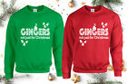 Gingers Not Just For Christmas Jumper, Funny Xmas Day Santa Cookies Unisex Top