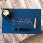 Aurora 88 Black & Gold Fountain Pen