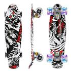 Skate Board Standard Skateboards 9Layer Canadian Maple Double Kick Concave Trick
