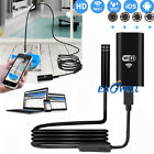 WiFi Waterproof IP67 Endoscope Inspection Camera HD For Samsung Galaxy S10/Note9