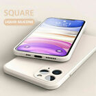 NEW Liquid Silicone Case Camera Lens Full Cover For iPhone 12 11 Pro XS Max XR X
