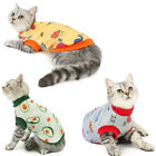 USA Puppy Dog Cat Cute Printed Autumn Clothes Warm Cats Sweater S-XL New