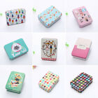 Cartoon Tin Box Sealed Jar Packing Box Jewelry Candy Storage Cans Coin Gift  W1