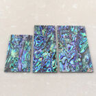"""Thick 1.5mm 0.059"""" Natural Paua Abalone Flat Shell Blank Scale Inlay Material"""