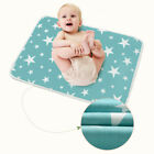 Baby Changing Pad Infant Waterproof Washable Boys Girls Urine Nappy Mat Cover 9
