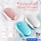 2 Pack Rechargeable 5200mAh Electric USB Hand Warmers Power Bank Reusable
