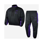 Nike NBA Los Angeles Lakers Courtside Tracksuit Men's Black Casual Hoodie Pants