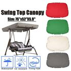 """75''x52"""" Patio Swing Canopy Replacement Cover Garden Cover Furniture Green"""