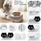 Pet Food Bowls Stand Cat Dog Dual Water Bowls Feeding Station with Raised Stand