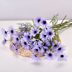 Artificial Silk Flowers Fake Daisy Bunch for Bouquet Wedding Home Garden Decor