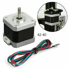 3D Printer 42-40 42-34 X/Y/Z/E Stepper Motor Fits 3D Creality Ender 3 Pro CR-10