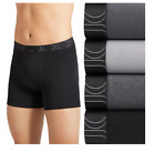 Men Jockey 4-Pack Active Essentials (Gray) Mid Rise Cotton Stretch Boxer Briefs