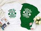 Irsish Whale Oil Beef Hooked T-Shirt, Leprechaun Shamrock St Patrick's Day Top