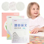 English Kids Groove Copybook Preschool Writing Stickers Concave Practice Book